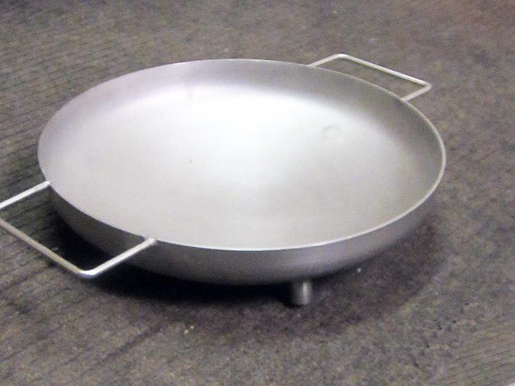 Nerezová wok grilovacia panvica